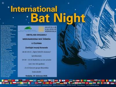 Međunarodna noć šišmiša u Čilipima