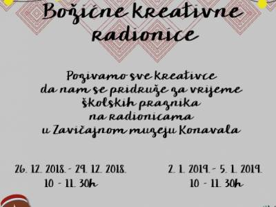 Zavičajni muzej Konavala - Božićne kreativne radionice