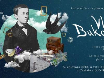 Vlaho Bukovac - djetinjstvo - promocija slikovnice
