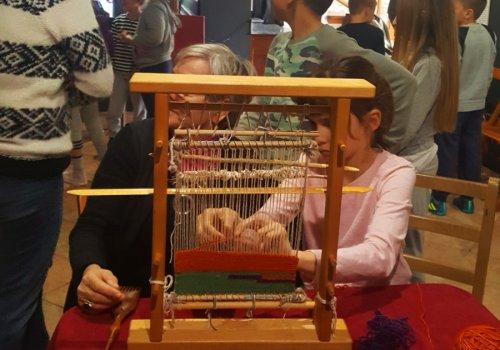 Interaktivna radionica za djecu Utkane poruke u Zavičajnom muzeju Konavala 14.03.2018.
