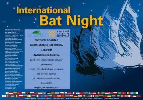 Međunarodna noć šišmiša u Čilipima 19.08.2018.